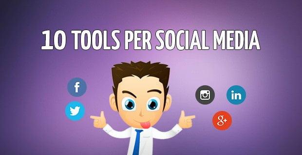 10 tools per grafiche sui social network
