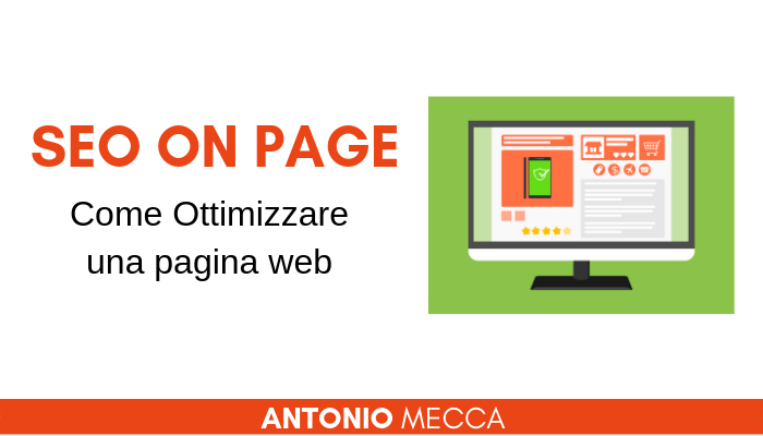 seo on page - come ottimizzare una pagina web